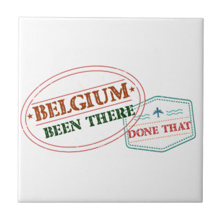 Belgium Been There Done That Ceramic Tile