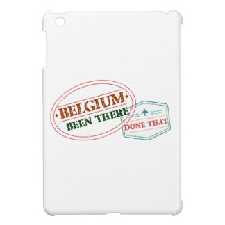 Belgium Been There Done That iPad Mini Case