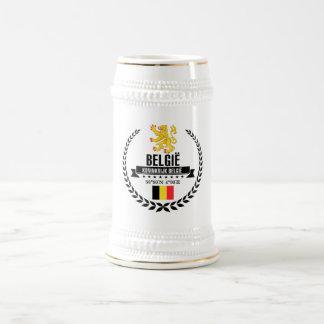 Belgium Beer Stein