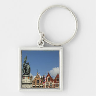 Belgium, Brugge (aka Brug or Bruge). UNESCO Key Ring