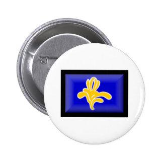 Belgium-Brussels Flag Buttons