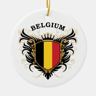 Belgium Ceramic Ornament