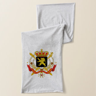 Belgium coat of arms scarf