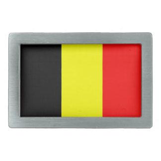 belgium country flag belt buckle