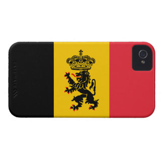 Belgium Flag Barely There™ iPhone 4 Cas iPhone 4 Covers