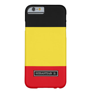 Belgium Flag Barely There iPhone 6 Case