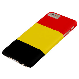 Belgium Flag Barely There iPhone 6 Plus Case