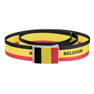 Belgium Flag Belt