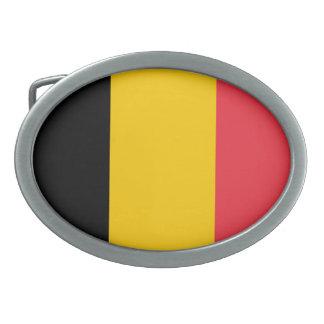 Belgium Flag Belt Buckle
