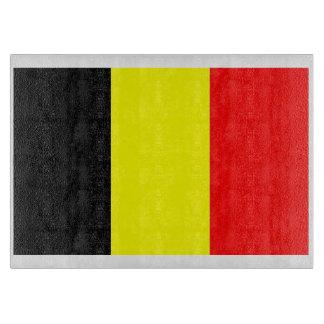 Belgium Flag Cutting Board