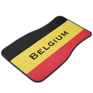 Belgium Flag Colors Car Mat Set