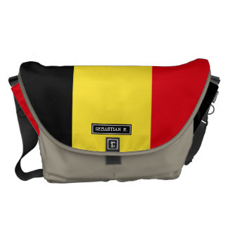 Belgium Flag Commuter Bag