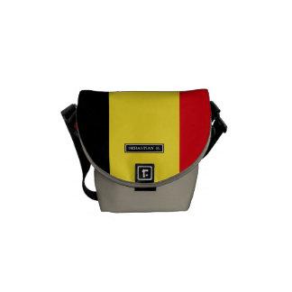 Belgium Flag Commuter Bags