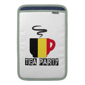 Belgium Flag Designs Sleeve For MacBook Air