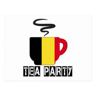 Belgium Flag Designs Postcard