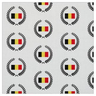 Belgium Flag Fabric
