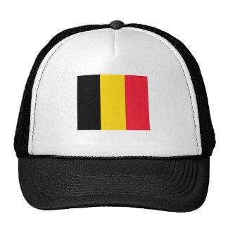 Belgium Flag Mesh Hat