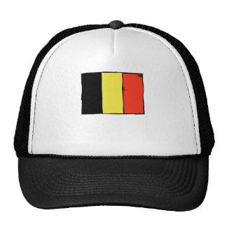 Belgium Flag Trucker Hats