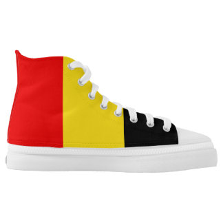 Belgium Flag High Tops