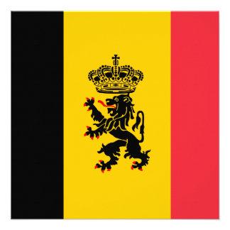 Belgium Flag Invitation