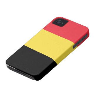 Belgium Flag iPhone 4 Case-Mate Cases