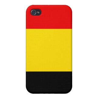 Belgium Flag  Case For iPhone 4