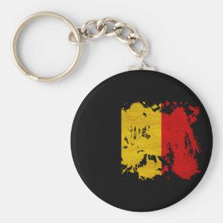 Belgium Flag Key Ring