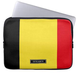 Belgium Flag Laptop Computer Sleeve