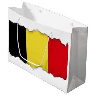 Belgium Flag Large Gift Bag