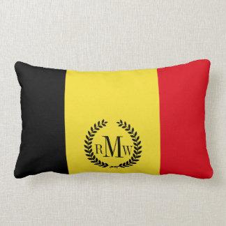Belgium Flag Lumbar Pillow