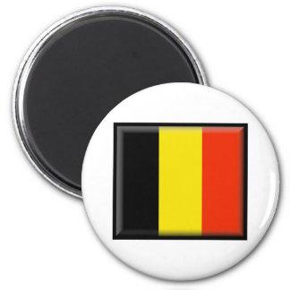 Belgium Flag Refrigerator Magnet