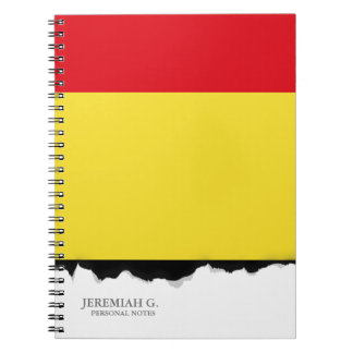 Belgium Flag Note Book