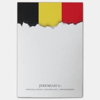 Belgium Flag Post-it® Notes