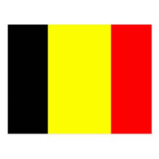 Belgium Flag Postcard