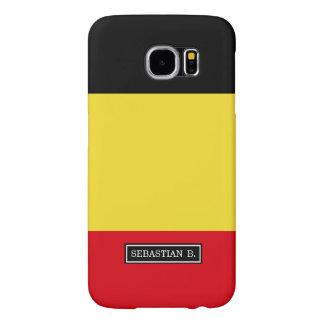 Belgium Flag Samsung Galaxy S6 Cases