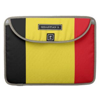 Belgium Flag Sleeve For MacBook Pro