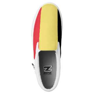 Belgium Flag Slip-On Shoes