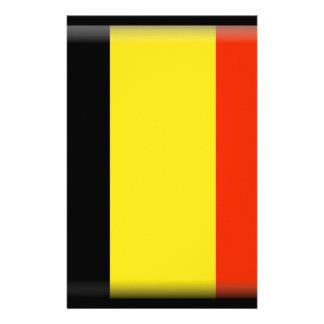 Belgium Flag Stationery