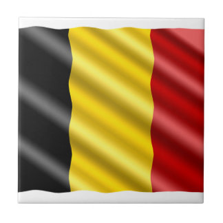 Belgium Flag Tile