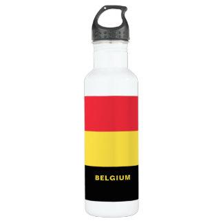 Belgium Flag Water Bottle