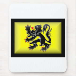 Belgium-Flanders Flag Mouse Mat