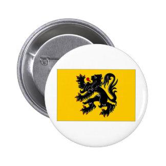 Belgium Flemish Region Flag Buttons