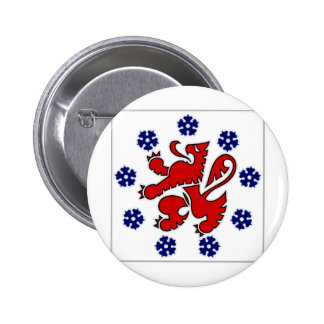 Belgium German Community Flag Pinback Button