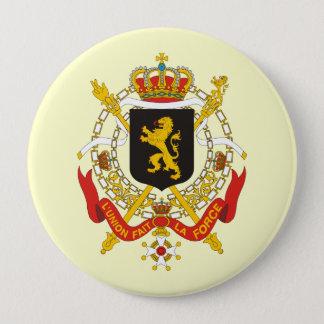 Belgium Government, Belgium 10 Cm Round Badge
