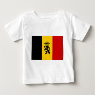 Belgium Government Ensign Flag Baby T-Shirt