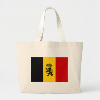 Belgium Government Ensign Flag Canvas Bag