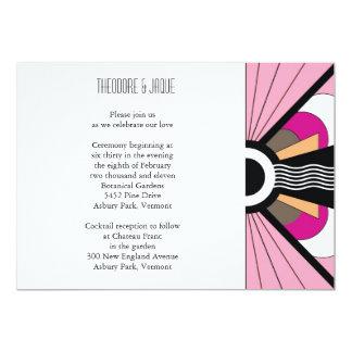 Belgium Invite: Berry 13 Cm X 18 Cm Invitation Card