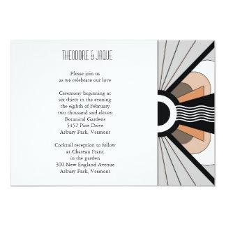 Belgium Invite:  Suntan Card