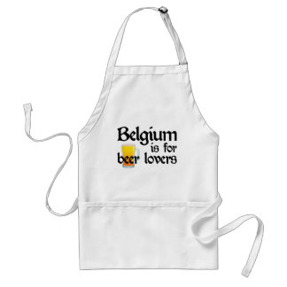 Belgium is for Beer Lovers Adult Apron