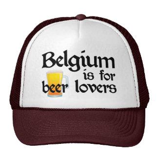 Belgium is for Beer Lovers Trucker Hats